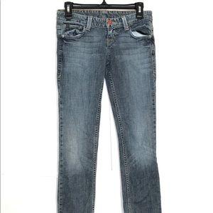 AX Armani Exchange Womens J57 Blue Jeans Size 0